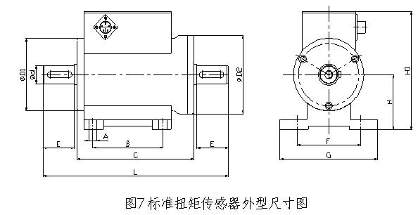 一、特点 本系列扭矩传感器是在标准测扭应变传感器的基础上研制开发的专门传递扭矩参数的传感器。 本系列扭矩传感器具备: 1、扭矩测量功能;能源及信号非接触传递功能;输出信号数字化功能。 2、可以传递静止扭矩信号、旋转扭矩信号、动态扭矩信号、静态扭矩信号。 3、传递信号时与是否旋转,转速和转向无关。可以适应长时间,高转速运转。 4、精度高,稳定性好; 5、体积小,重量轻,易于安装; 6、不需反复调零即可连续传递正反转扭矩信号; 7、没有集流环等磨损件,可以高转速长时间运行; 8、抗干扰性强; 9、可任意位置